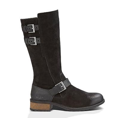 UGG Women's Everglayde Black Suede Boot 5 B ...