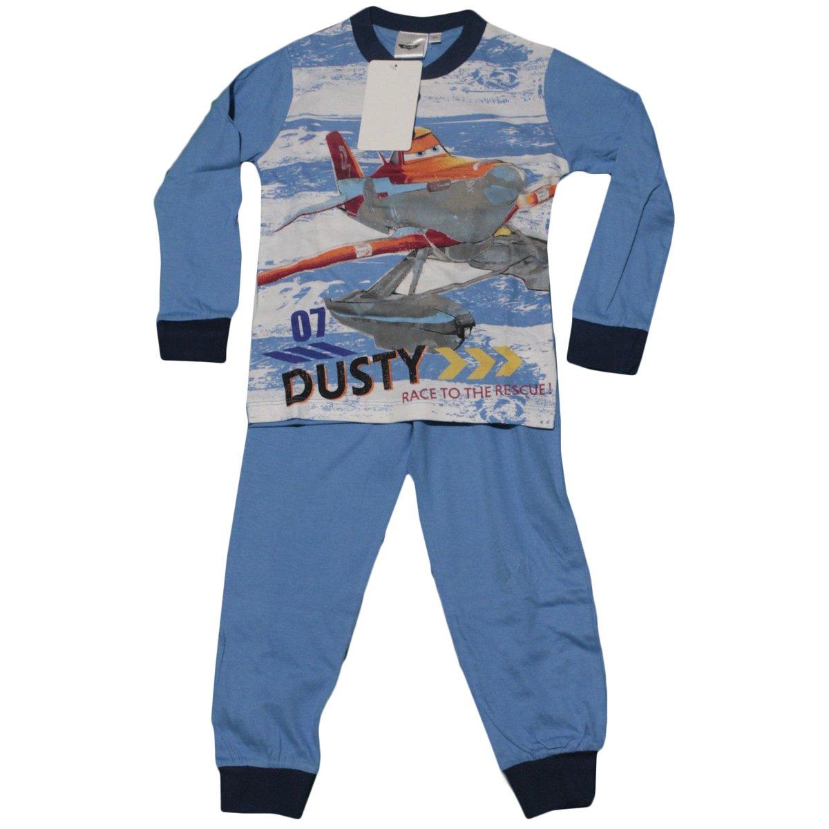 Ruso Tejidos Pijama Bimbo niño Chándal Disney Planes Dusty Pitufo ...