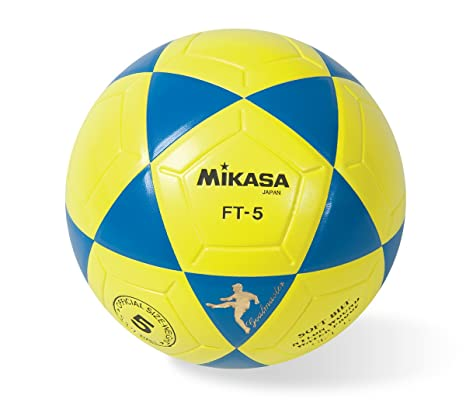 ebd92d196 Amazon.com: Mikasa Goal Master Soccer Ball (Blue/Yellow, Size 5 ...