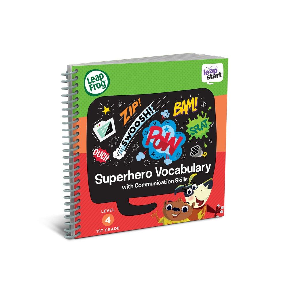 LeapFrog 21611 LeapStart Year 1 Superhero Vocabulary and Communication Skills Activity Book 80-21611E