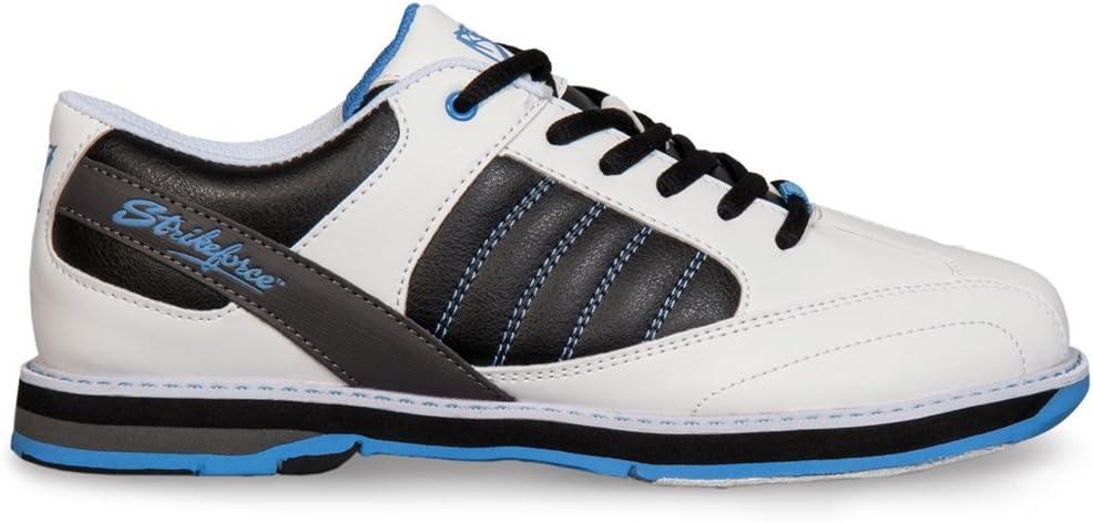 KRストライクフォース レディース ボウリングシューズ ミスト Size 6.5 白い/黒/青