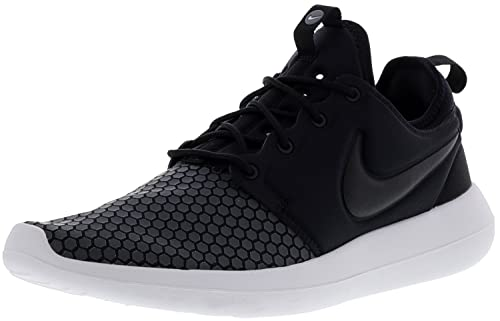 e94060e7ff208 Nike Roshe Two Se Mens Black Synthetic Athletic Lace Up Running Shoes 10.5   Buy Online at Low Prices in India - Amazon.in