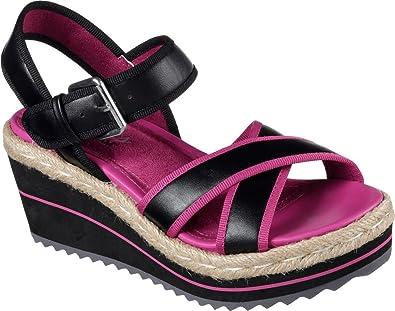b31dfe02e378 Skechers Women s Heart Breaker Ankle-Strap Sandal