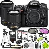 Nikon D7200 DSLR Camera with Nikon 18-140mm Lens and Nikon 70-300mm Lens 2 Lenses Combo