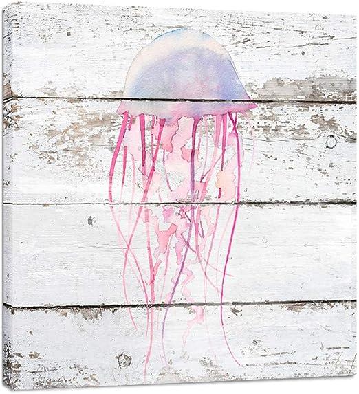 SEASIDE OCEAN SEAWEED Art Print Poster Home Decor Room Drawings Bathroom Themed