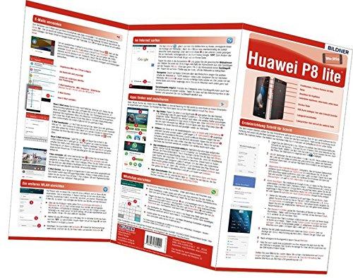 Price comparison product image Huawei P8 Lite - der leichte Einstieg: Alles auf einen Blick. Besonders für Senioren geeignet