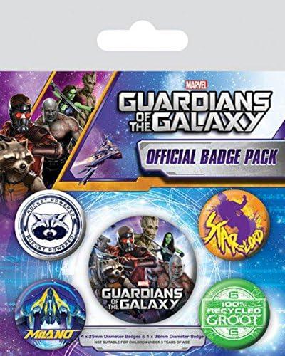 1art1 Guardianes De La Galaxia - Rocket Powered, 1 X 38mm & 4 X ...