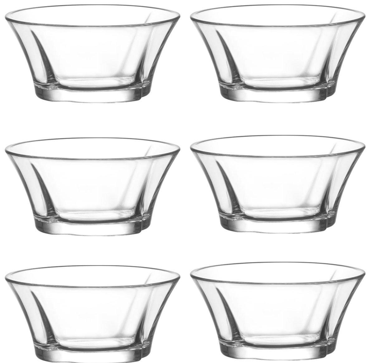 Lav 6/Christbaumkugeln-24 r/ígida Truva cuencos cristal Carcasa/ /Cuenco de postre vorspeise Cristal Vasos 190/ml
