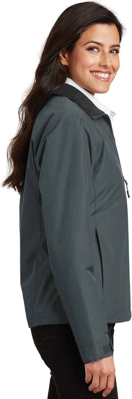 Port Authority-Ladies Challenger Jacket L354-Steel Grey//True Black