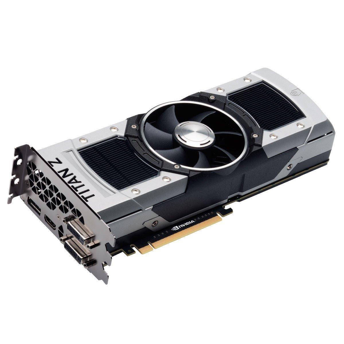 Nvidia Geforce GTX Titan Z 12 GB GDDR5 7.0 Gbps PCIe 3.0 x16 ...