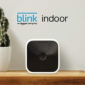 Blink Indoor: draadloze HD-beveiligingscamera met bewegingsdetectie en tweerichtingsaudio waarvan de batterijen twee jaar meegaan | 1-delig camerasysteem