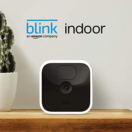 Blink Indoor | Wireless, HD security camera with two-year battery life, motion detection, two-way audio | 2-Camera System