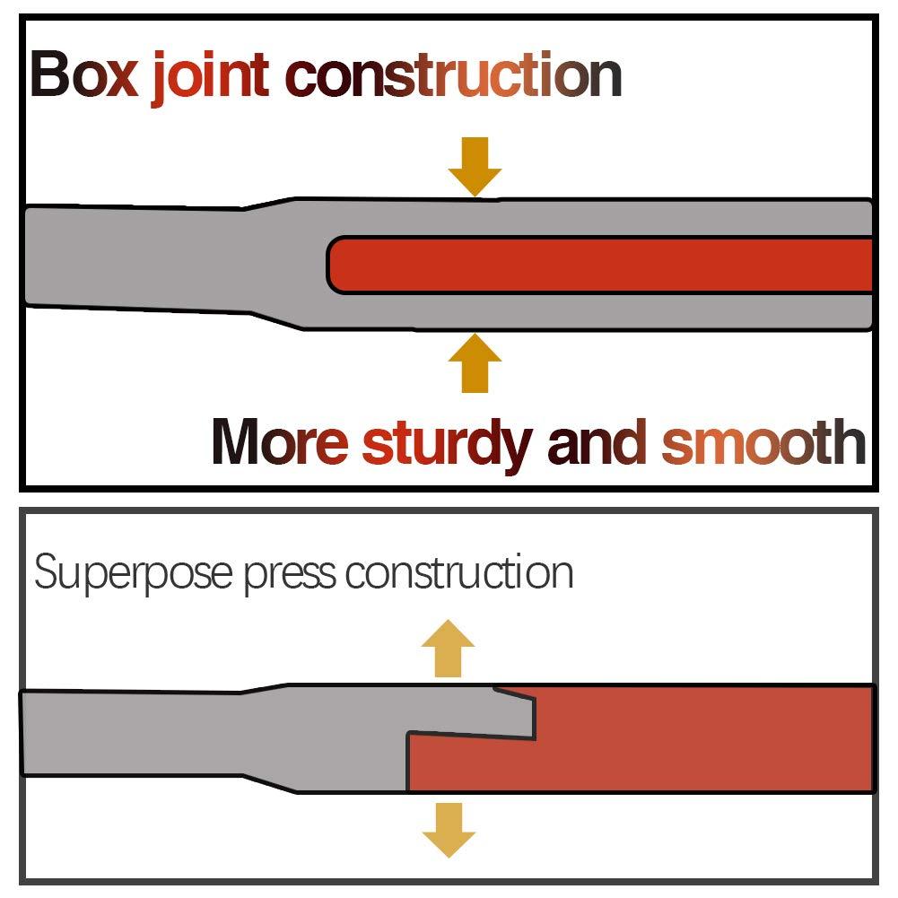 Speedwox mini pinze ad ago Smooth Flat Jaws extra long nose Long REACH micro funzionale con utensili di precisione primavera artigianato creazione gioielli di perline in acciaio al cromo vanadio 12,7/cm