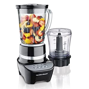 Wave Action Blender with food Chopper Attachment