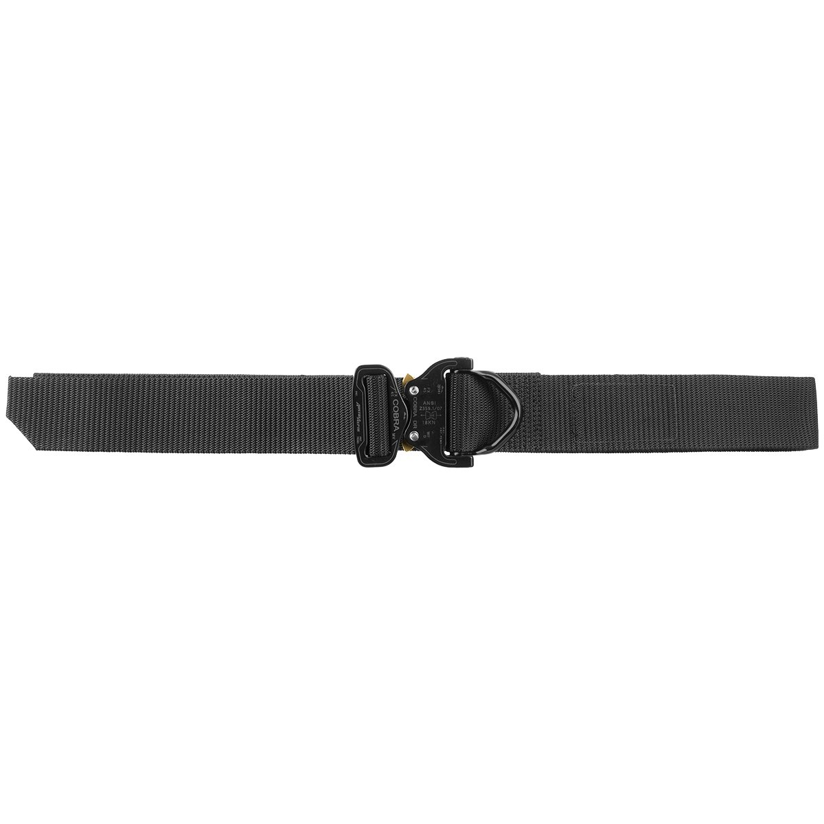 Cobra Tactical D-Ring Belt FX45 Black 51 Belt Length Up to 40 Pants Size HELIKON-TEX Patrol Line
