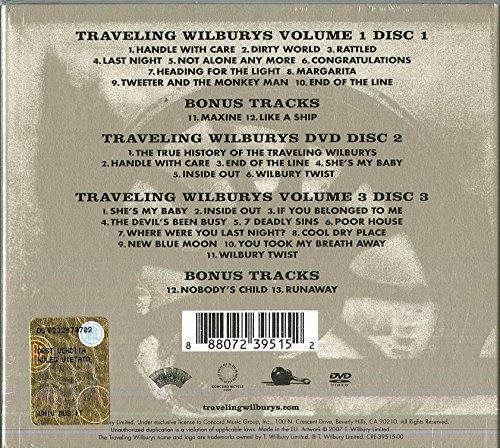 Traveling Wilburys Collection 2 Cd Dvd Combo Import It All