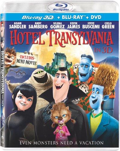 Hotel Transylvania (Blu-ray 3D/Blu-ray/DVD + UltraViolet Digital Copy)