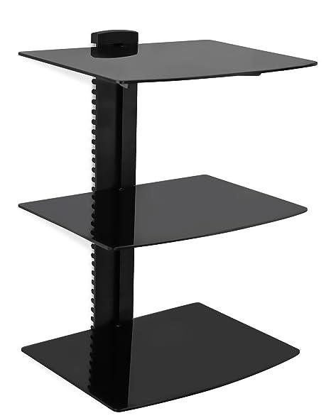 amazon com mount it floating wall mounted av entertainment shelf rh amazon com