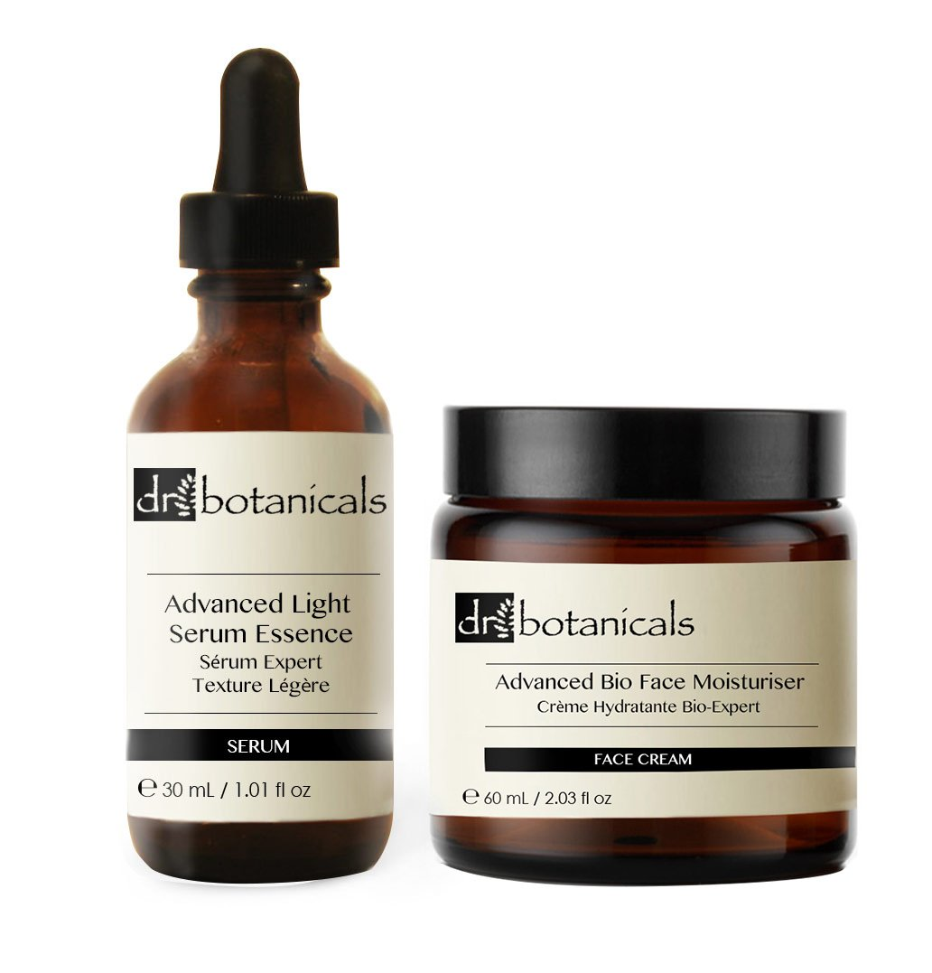 Dr Botanicals Advanced Light Facial Serum Essence Plus Advanced Bio Face Moisturizer, 40 Gram