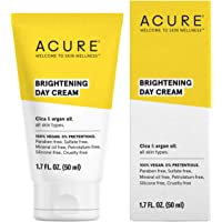 ACURE Brightening Day Cream | 100% Vegan | For A Brighter Appearance | Cica & Argan Oil - Moisturizes, Fights Dullness…