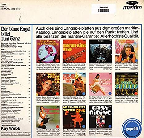 e1a208babadbb8 Kay Webb - Kay Webb - Die Lustige Witwe Bittet Zum Tanz - German Import -  Amazon.com Music