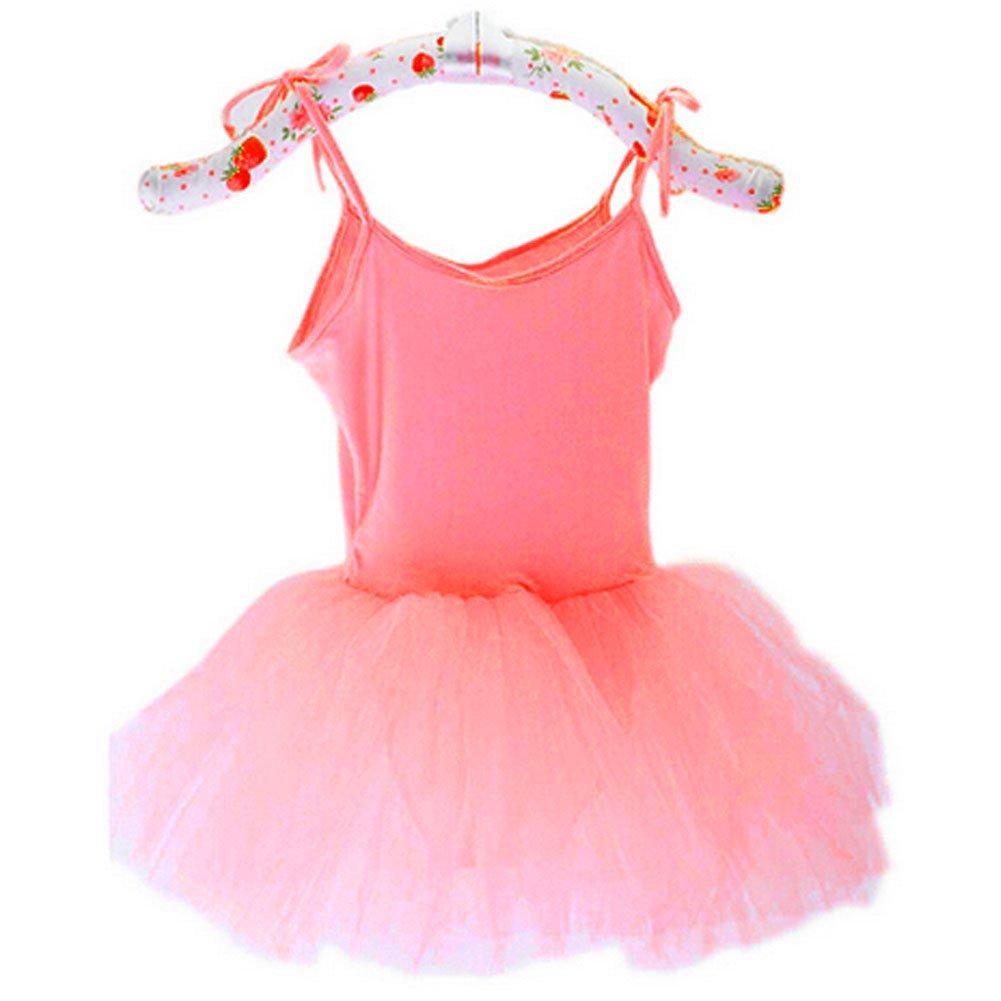 d2549b143 Amazon.com   PANDA SUPERSTORE  PINK  Lace Up Plain Ballet Dress ...