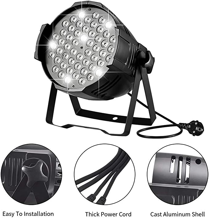 Sararoom 160W LED Stage Lights,Luces Discoteca,RGB Focos LED ...