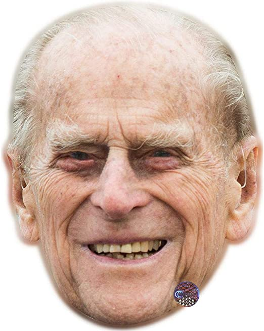 New Prince Philip Celebrity Face Mask