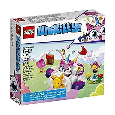 LEGO Unikitty! Unikitty Cloud Car 41451 Building Kit (126 Pieces): Toys & Games
