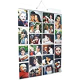 Picture Pockets Large (Size A) Hanging Photo Gallery - 40 photos in 20 pockets (reversible)
