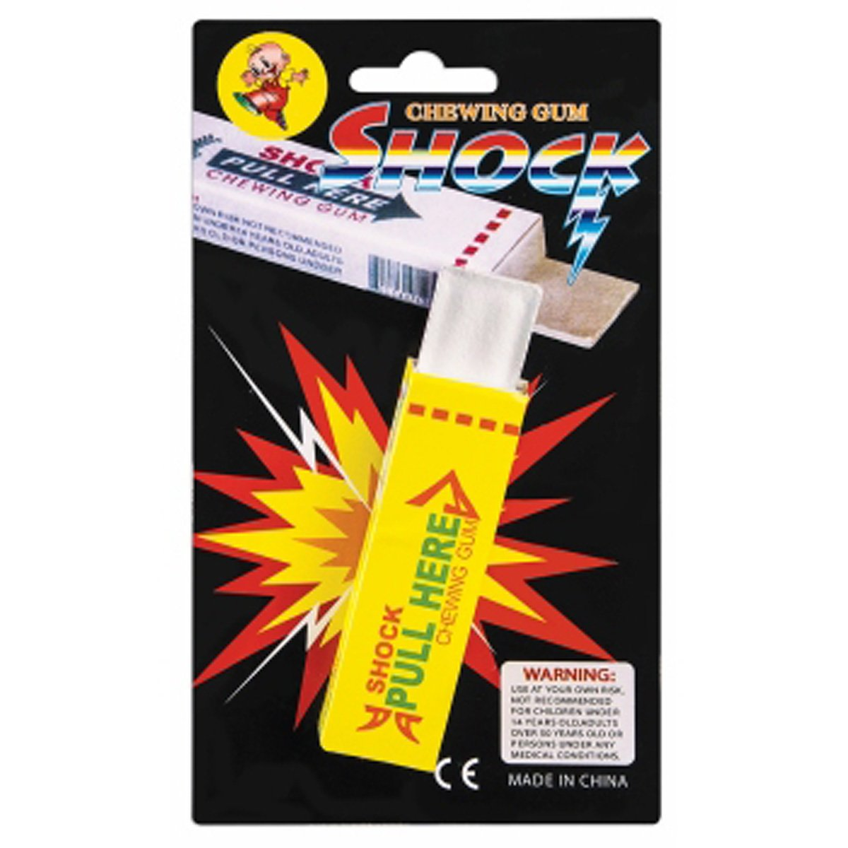 Shock Chewing Gum, Electrical Shocking Gum ToyCenter 12582