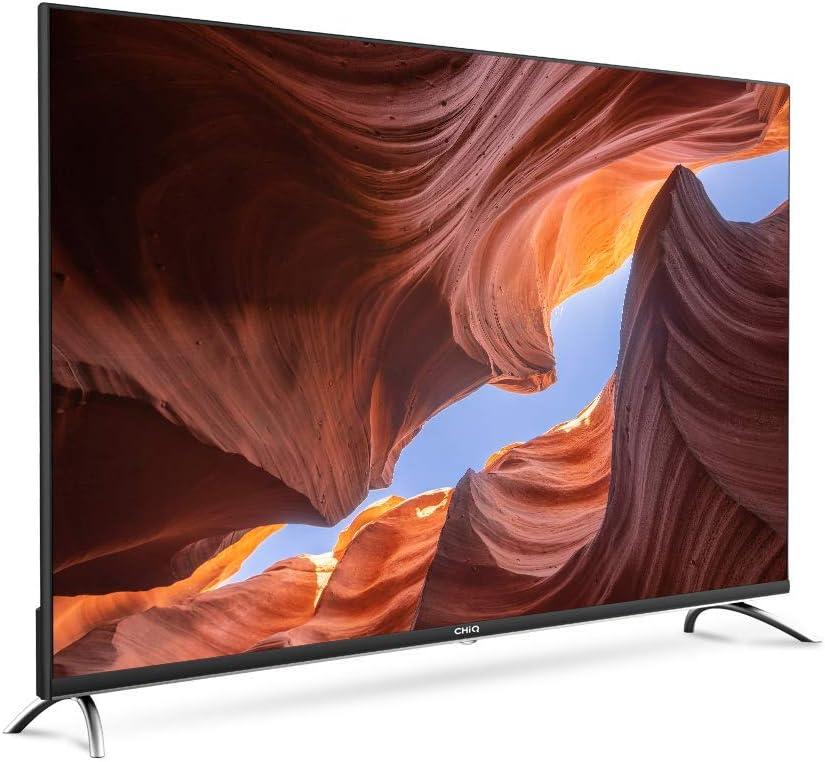 CHiQ Televisor Smart TV LED 58 Pulgadas, Android 9.0, Smart TV, UHD, 4K, WiFi, Bluetooth, Google Play Store, Google Assistant, Netflix, Prime Video, HDMI, USB: Amazon.es: Electrónica