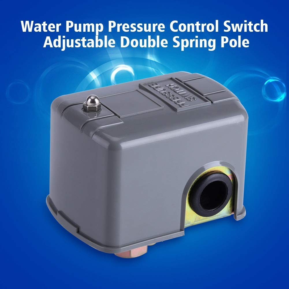 Adjustable Double Spring Pole 0.8-5.0bar 40-60 PSI ZG1//4 Delaman Pressure Switch Electric Water Pump Pressure Control Switch