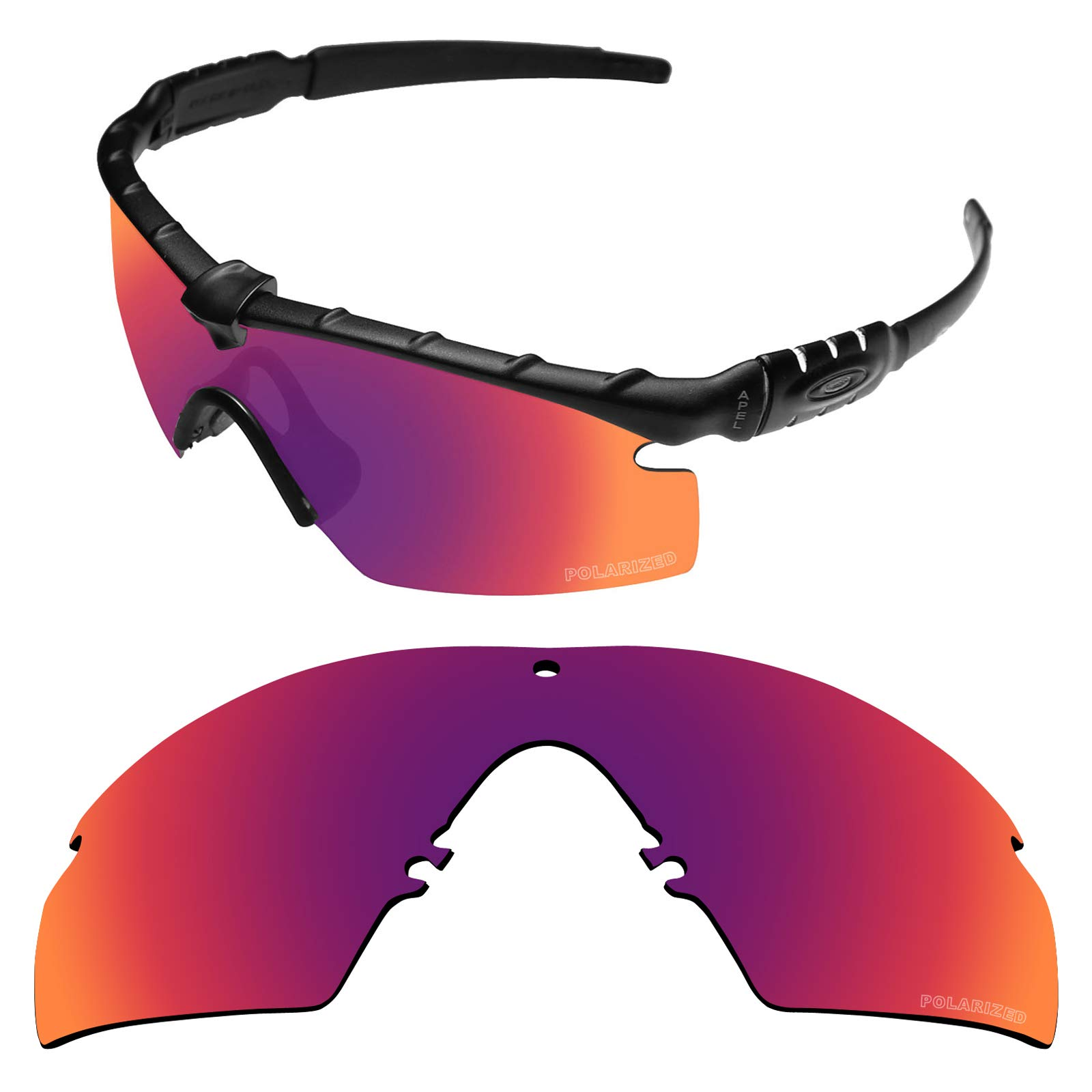 01f5b9026a Tintart Performance Lenses Compatible with Oakley Si Ballistic M Frame 2.0  Polarized Etched-Midnight Nova