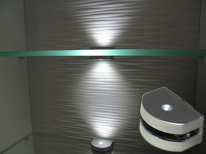 Led di pagine in vetro illuminazione agli angoli kw led