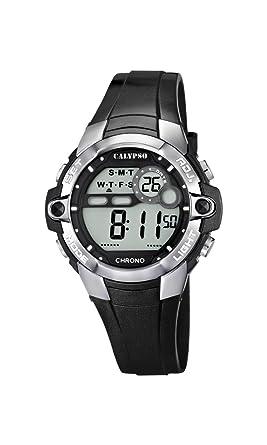 Calypso Watches Reloj Digital para Unisex de Cuarzo con Correa en Caucho K5617_6: Amazon.es: Relojes