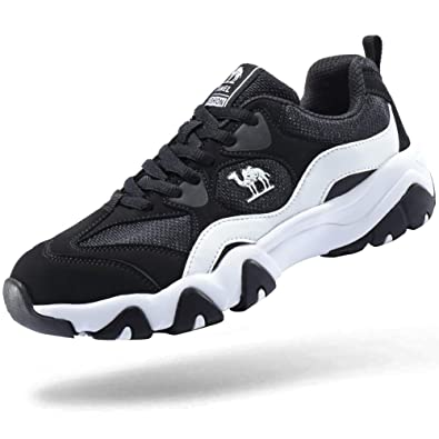075db57cf CAMEL CROWN Women Running Shoes Trainers Lightweight Casual Comfort Breathable  Training Shoes for Ladies Black/