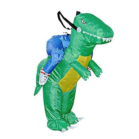 Amazon.com: MKChung - Disfraz de dinosaurio hinchable con ...