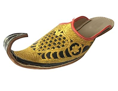 d064ce404b88 Image Unavailable. Image not available for. Color  Step n Style Indian Men  Shoes Khussa Traditional ...