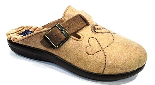 servizio eccellente designer nuovo e usato marchio popolare EASY WALK pantofole ciabatte invernali da donna art. 185021 ...