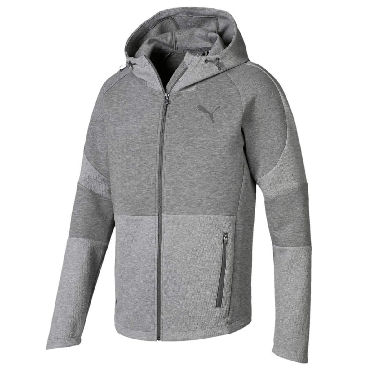 TALLA M. Puma Evostripe Move Hooded Jacket Sudadera, Hombre