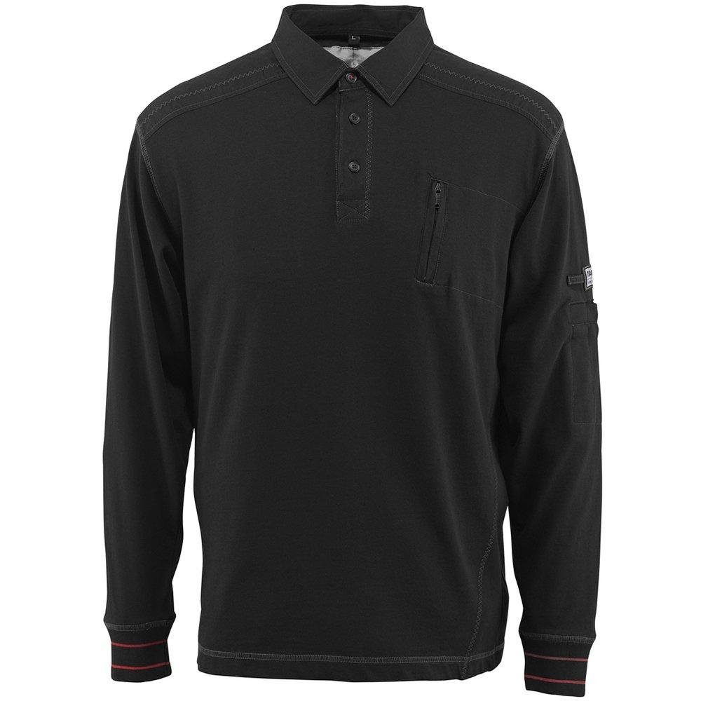 Mascot Polo-sweatshirt'Ios', 1 Stü ck, 2XL, schwarz, 50352-833-09-2XL