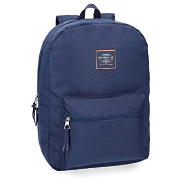 Pepe Jeans Cross 6222362 Mochila Escolar, 44 cm, 21.12 litros, Azul: Amazon.es: Equipaje