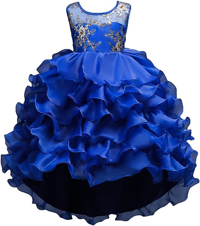 Vestito Cerimonia 15 Anni.Hibote Ragazze Vestito Abito Estivo Bambina Pizzo Abiti Da