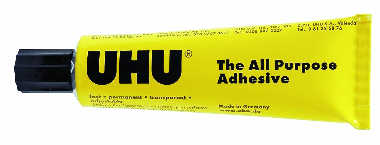 Edding - Tubo adhesivo multiusos, 125 ml UHU 3-38106 B0031RG2GA