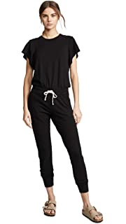 d1006b1f891c Amazon.com  Monrow Women s Crepe Basics Jumpsuit  Clothing