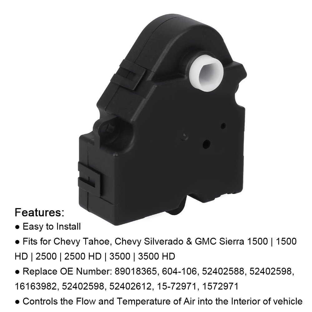 OKAYPARTS Blend Door Actuator replaces 89018365, 52402588