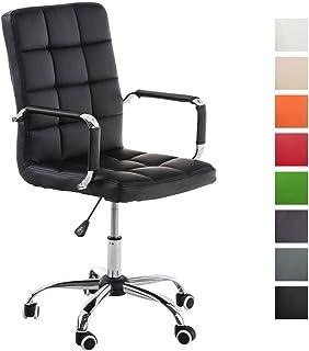 CLP Silla de Oficina Joris con tapizado de Cuero sintético. La ...