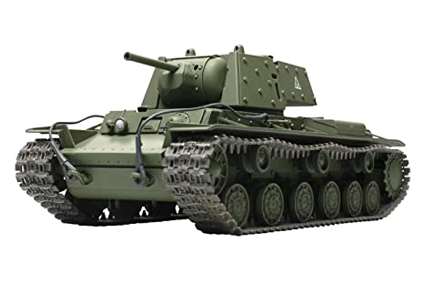 Amazon.com: kv1 heavy tank w applique armor 1 48 tamiya: toys & games