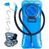 LANNEY Hydration Bladder Water Bladder Leak Proof BPA Free Water Reservoir Bladder Replacement for Backpack, Hydration…
